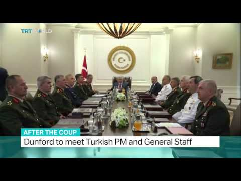 After The Coup: US Joint Chiefs of Staff chair to visit Turkey, Zeina Awad reports