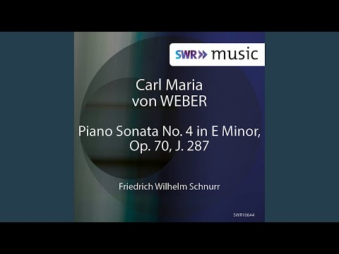 Piano Sonata No. 4 in E Minor, Op. 70, J. 287: I. Moderato
