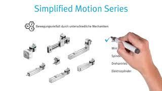 Erklärvideo - Festo Simplified Motion Series