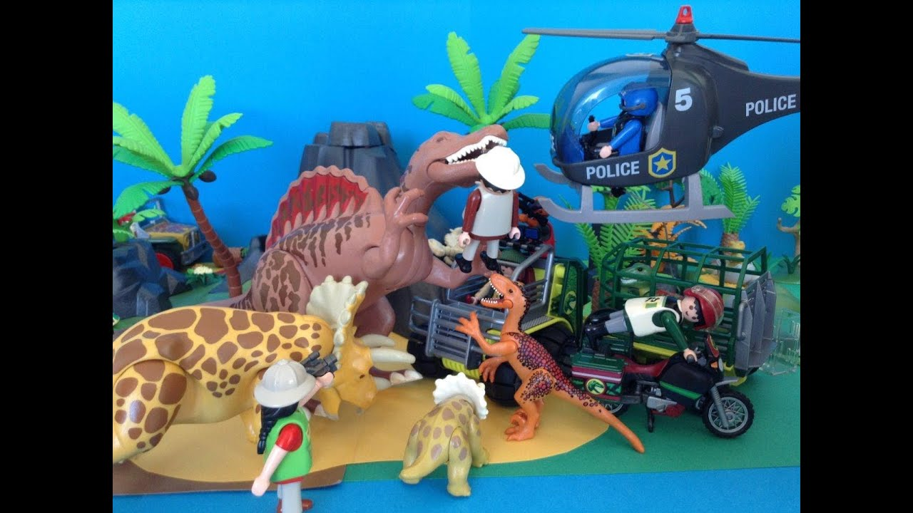 Playmobil dinos dinosaure dinosaurs jurassic world the - Dinosaur playmobile ...