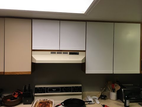 How To Paint Laminate Kitchen Cabinets White