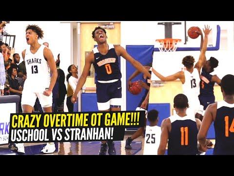 Sophomore Jett Howard & U School INSANE OVERTIME Game vs Stranhan ENDS IN BUZZER BEATER!!!