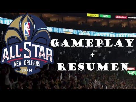 NBA 2K14 PS4   Resumen del All-Star Game 2014