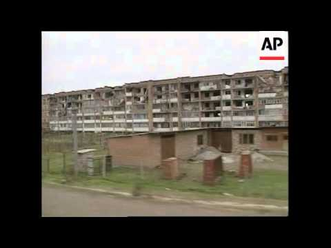 CHECHNYA: GUDERMES: RUSSIA/CHECHNYA CONFLICT