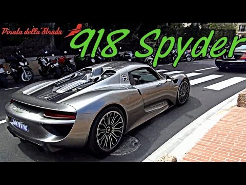 porsche 918 spyder monaco supercar tour youtube. Black Bedroom Furniture Sets. Home Design Ideas