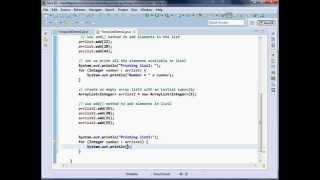 Java util ArrayList addAll Method