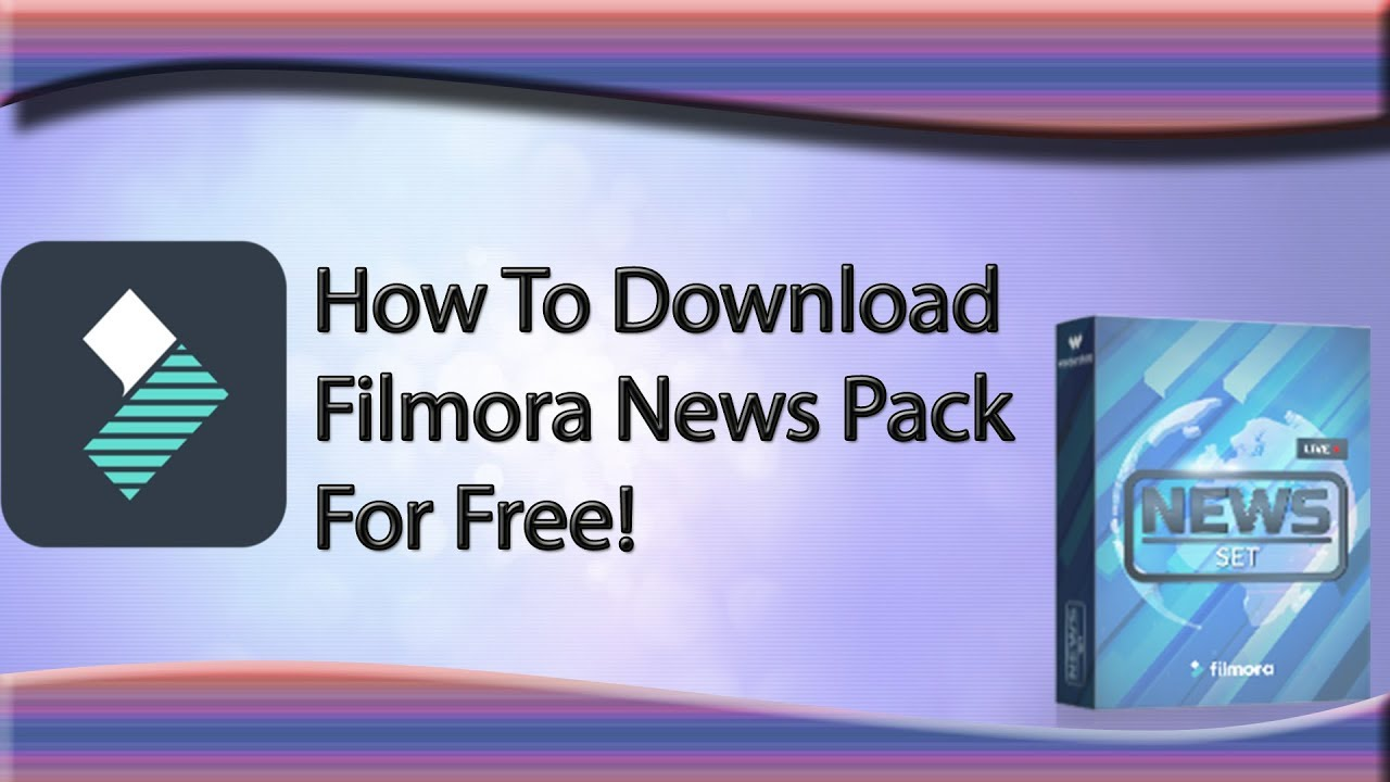 filmora news templates free download