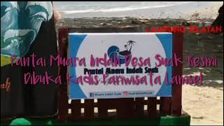Pemotongan Tumpeng Tandai Peresmian Pantai Muara Indah Suak