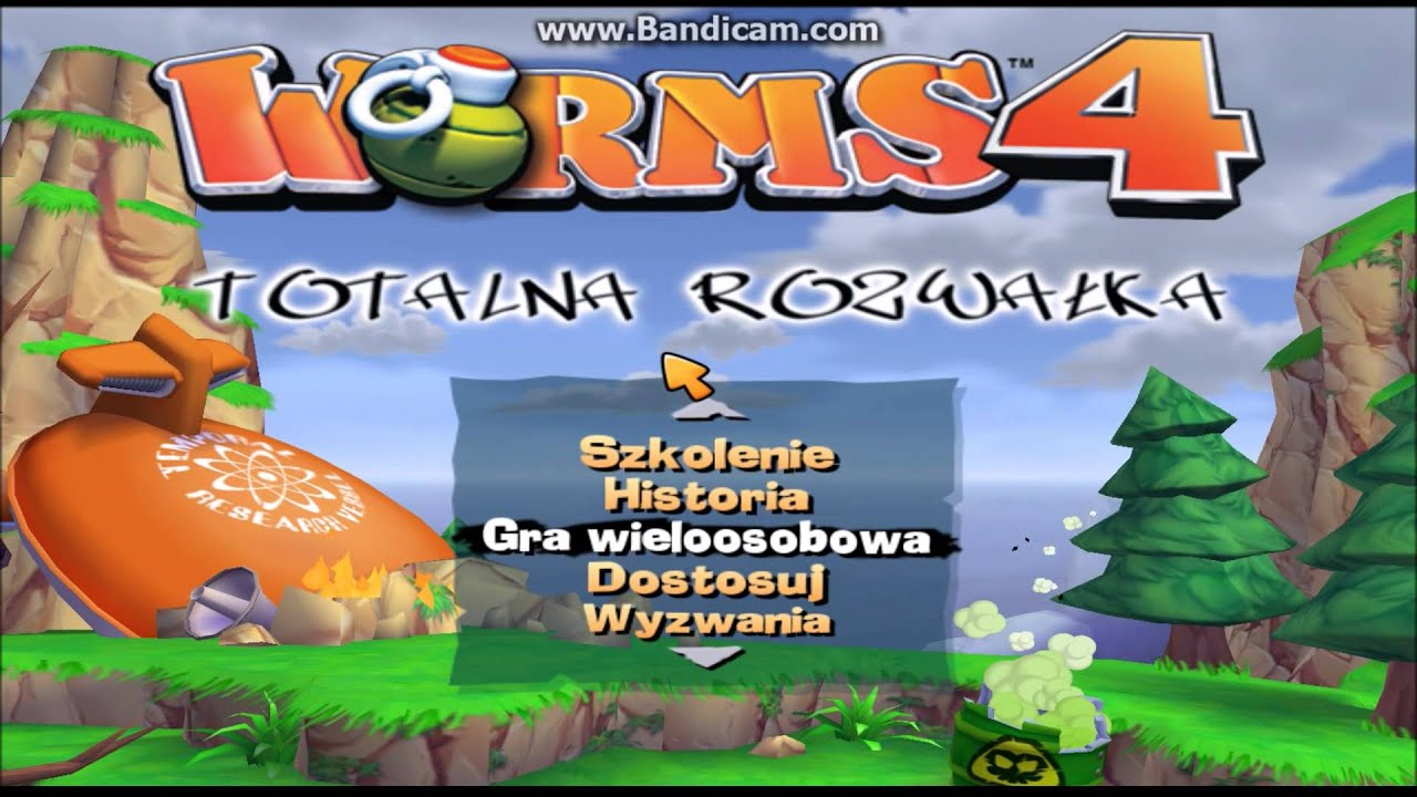 How to play Worms