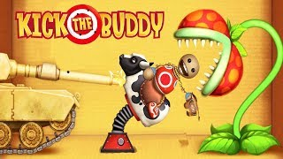 Kick the Buddy All Weapons VS The Buddy Android Games 2018 Gameplay Friction Games