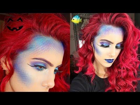 EASY Mermaid Halloween Tutorial   BODMONZAID