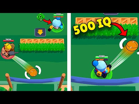 500 IQ GALE *CRAZY* SAVE In BRAWL BALL ️⚽ Funny Moments, Glitches \u0026 Fails #128