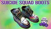 7b410413bb21d7 JBo Airbrush  Suicide Squad Shoes - YouTube