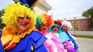 Аниматоры на детский праздник Новосибирск. Аниматоры и клоуны - Арт-группа триумфо.(, 2013-09-19T11:33:57.000Z)