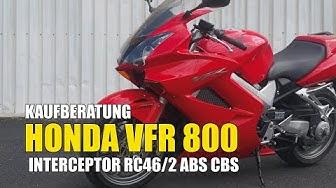 Honda VFR 800 RC46/2 ABS CBS Interceptor Kaufberatung Gebrauchtfahrzeug Test Used Bike Review