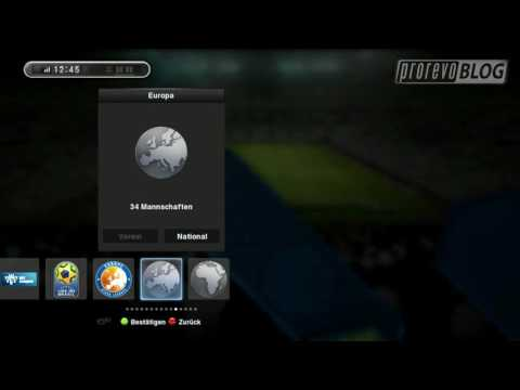 Pro Evolution Soccer 2013 All team squads (not final code) HD