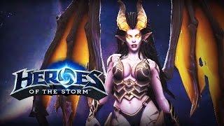 ♥ Heroes of the Storm (Gameplay) - Kerrigan, Queen Of Baes (HoTs Quick Match)