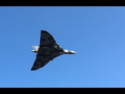 XH558 Vulcan Last Public Display at Gaydon