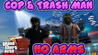 GTA 5 Glitches - Helmet, mask & glasses. Plus the invisible torso with the trashman outfit glitch!