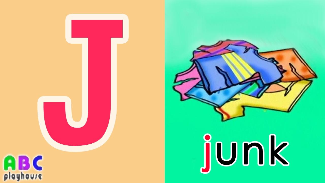 【中英字幕】ABC教學 第23集 Junk|單字A-Z|YOYO|ABC Playhouse|兒童英文教學Learning English For Kids - YouTube