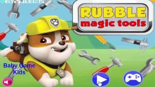 щенячий патруль на русском 2016 - щенячий патруль Игры Rubble инструменты магия игры