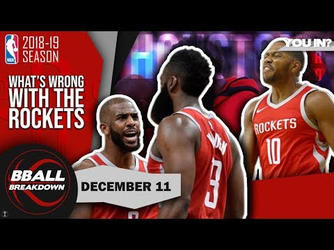 Why The Rockets Might Not Make The Playoffs