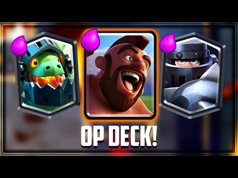 Clash Royale - OP TRIFECTA DECK! 20 Win Challenge