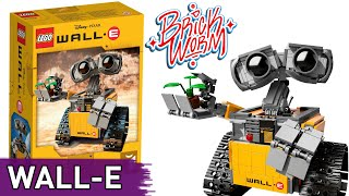 Lego Ideas: WALL-E (21303) - Brickworm