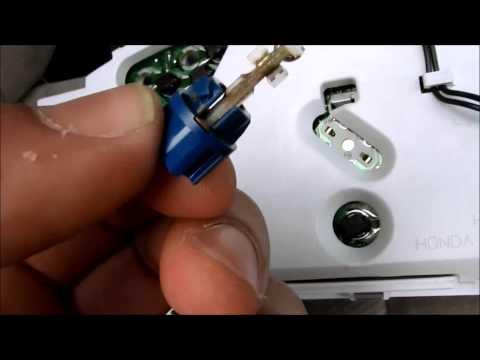 DIY Honda Accord I4 Gauge Cluster LED Swap