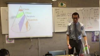 The Hyperbola (4 of 4: Features of the Hyperbola how the conic sections relate to each other)