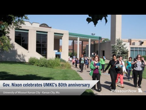 University of Missouri - Kansas City celebrates 80th anniversary