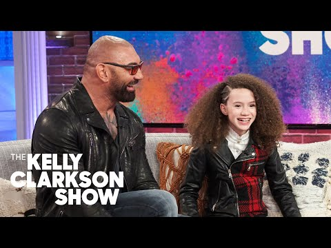 Dave Bautista And Chloe Coleman Reveal Who Is The Better Spy