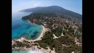 Flying over Sithonia - Halkidiki - Older Video - Part 2(Aerial views of the most beautiful beaches and sites at Sithonia Halkidiki / Macedonia / Greece Part 2., 2014-08-10T10:11:13.000Z)