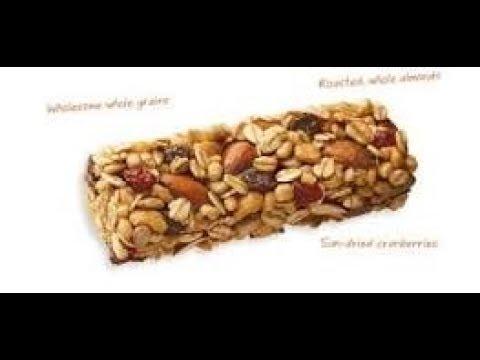 Gluten free Vegan Granola Nut bars