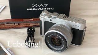 [Unboxing] 후지필름 Fujifilm X-A7 …