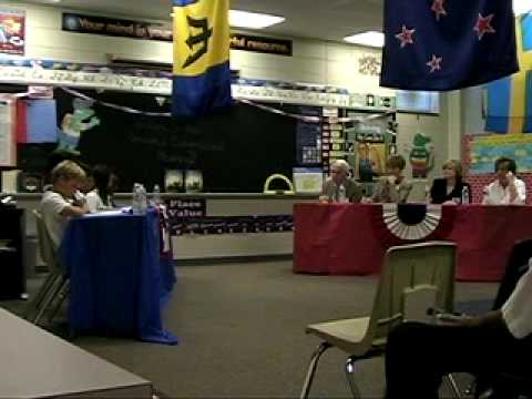 Congressional Hearing - Fifth Grade at Gorman Crossing Elementary School