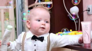 День Рождения Ильи - 1 годик. Веселое слайдшоу.