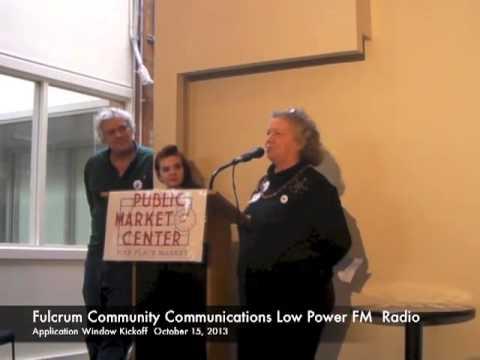 Fulcrum Community Communications Low Power FM Radio
