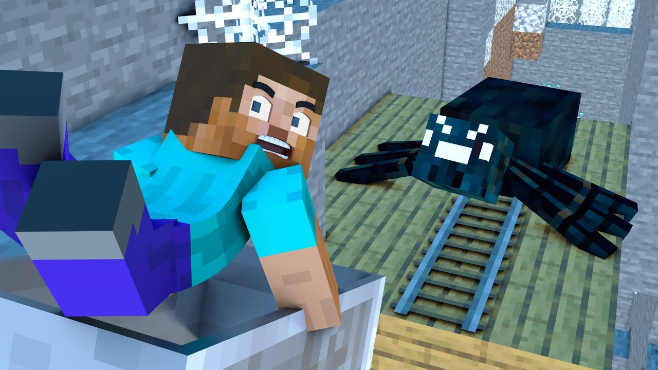 The minecraft life of Steve and Alex | Treasure | Minecraft animation