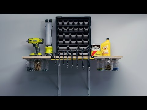 A Simple How-To for the Most Useful Shelf Ever | PopMech + Home Depot