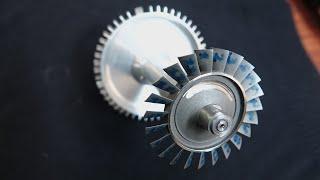 KJ 66 - Хочу сделать легендарный ТРД - реактивный двигатель