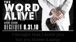 "The Word Alive - ""The Wretched"" (w/ lyrics)"