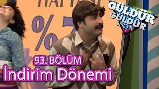 Güldür Güldür Show 93. Bölüm, İndirim Dönemi Skeci