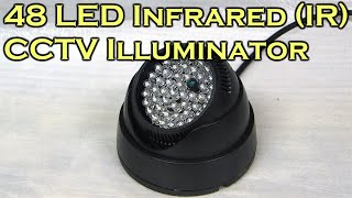 48 LED Infrared (IR) Illuminator for CCTV Night Vision Camera