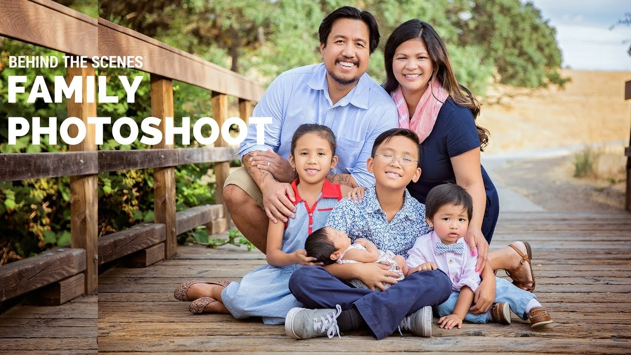 Outdoor family photo session using only natural light family posing ideas youtube