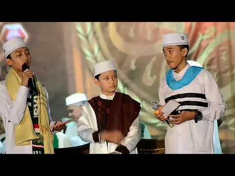 Qosidah Ucapan selamat ulang tahun dari syubanul muslimin untuk majlis Nurul musthofa