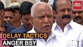 BJP Wants Floor Test Today, Delay Tactics Anger Yeddyurappa | Full Story
