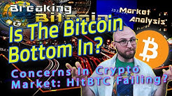 Did Bitcoin just bottom out? Potential exchange fraud on hitBTC, Lightning Network, EU's 5AMLD?