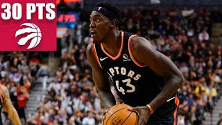 Pascal Siakam drops 30 points in dominant performance vs. the Pistons | 2019-20 NBA Highlights