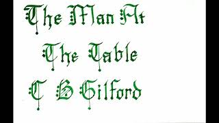 The Man at the Table (Suspense) C B Gilford